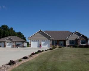 Custom Home & Garage